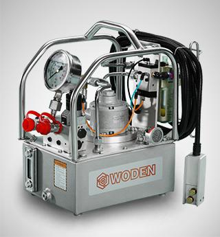 PQ703A三级气动液压泵