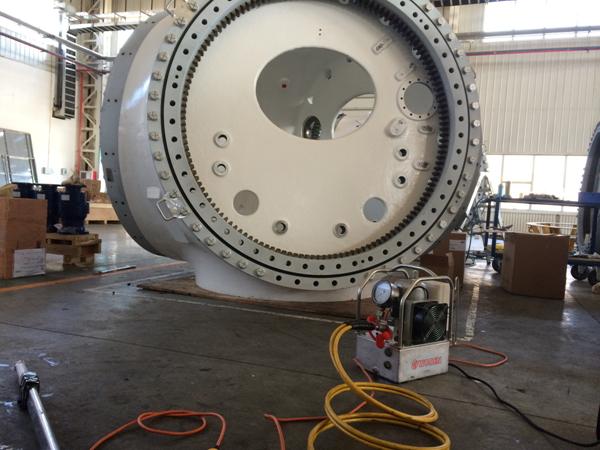 内蒙古赤峰某风电设备制造厂,放弃进口品牌选沃顿