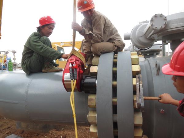 雷电竞网页WD-A35驱动LOL雷电竞雷电竞备用网站在缅甸施工情景