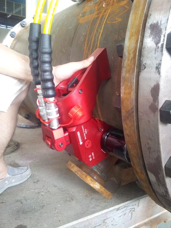 应用于宁波某化工装备公司
