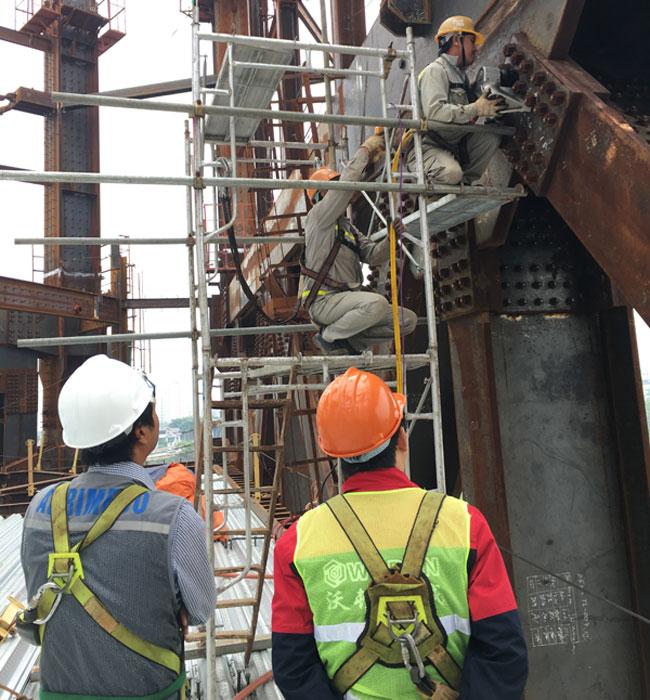 沃顿woden液压扳手服务越南钢结构用户