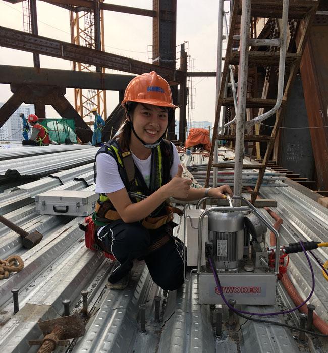 沃顿WODEN越南钢结构用户