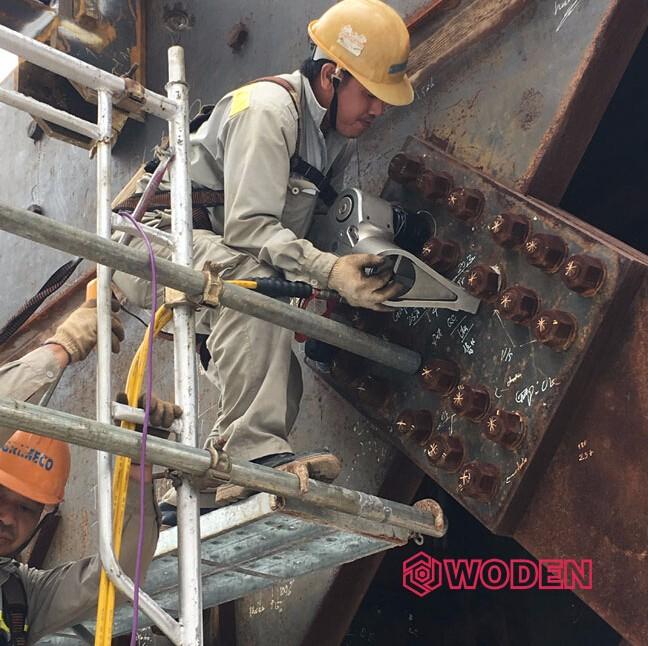 沃顿WODEN液压扳手应用于钢结构