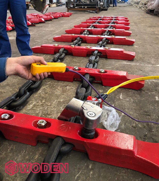 沃顿液压扳手应用于山西某煤机制造厂