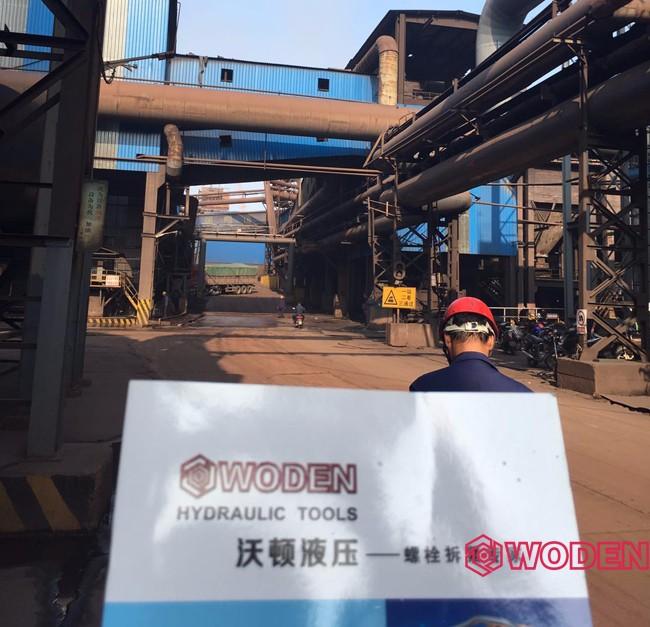 热烈祝贺安钢集团某钢铁公司和沃顿机械达成首次合作