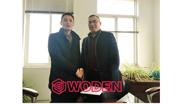 沃顿机械杭州工厂周总和沃顿总部何总一起交流学习。