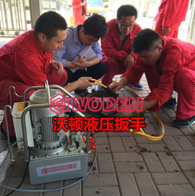 液压扳手泵站压力设置方法。