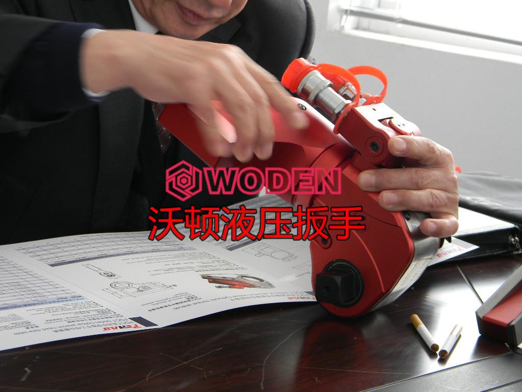 液压扳手不可随意拆卸。