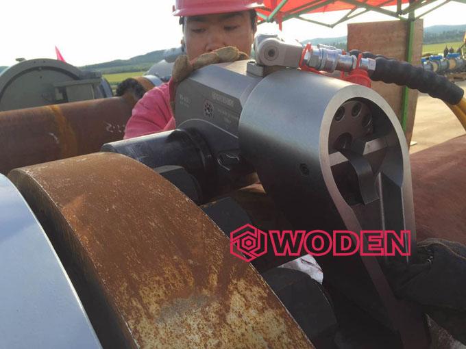 沃顿液压扳手被应用于中石油中石化。