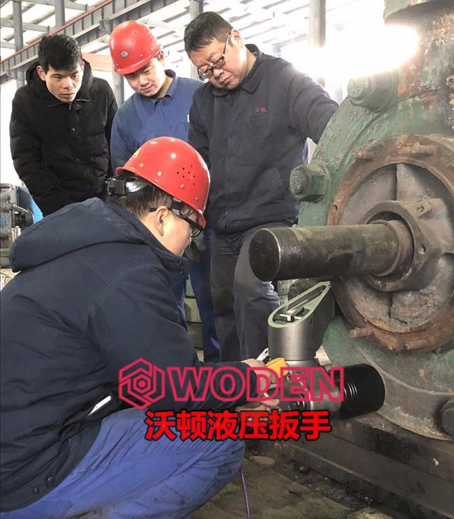 沃顿液压扳手提供专业的螺栓解决方案。