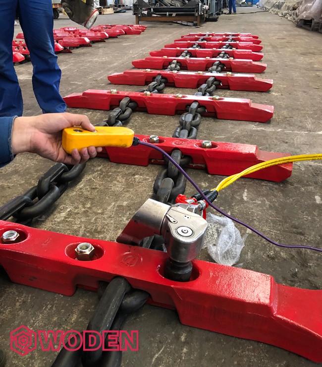沃顿液压扳手提供精准的扭矩精度