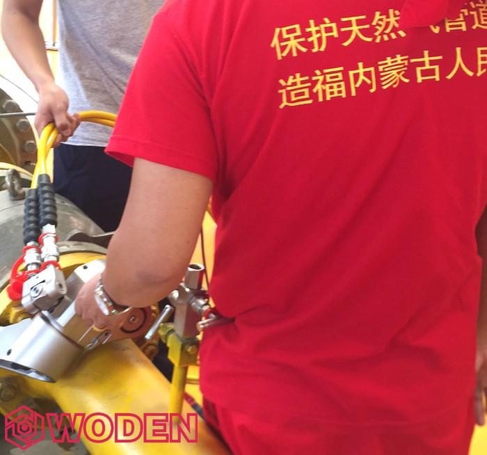 内蒙古西部天然气行业专用液压扳手培训现场4