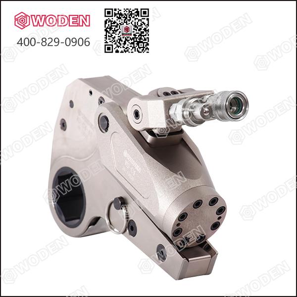 静力压桩机维修用液压扳手就选沃顿液压扳手!