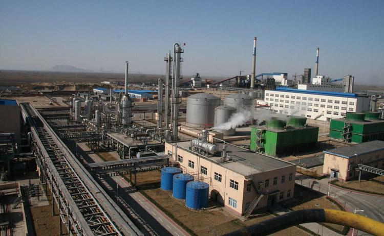 煤化工厂现场