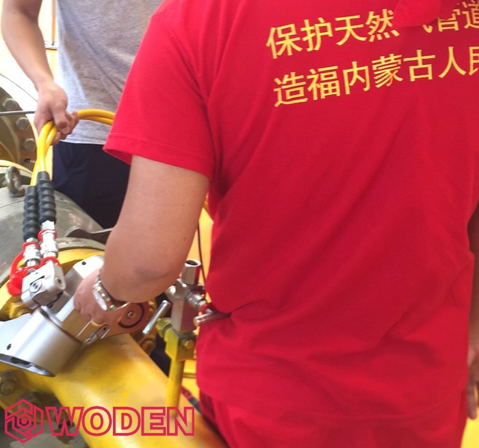 沃顿远赴内蒙古西部天然气为过质保用户第二次培训
