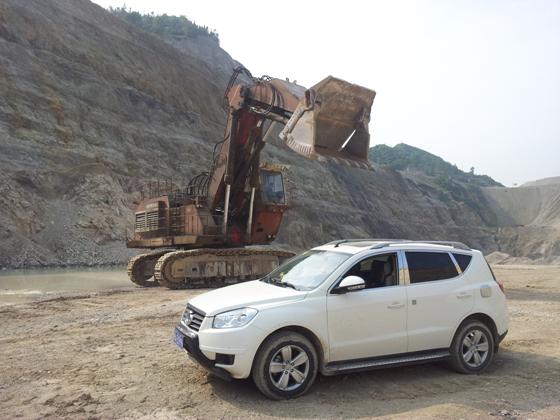 雷电竞网页WODEN远赴贵州某磷矿山现场测量