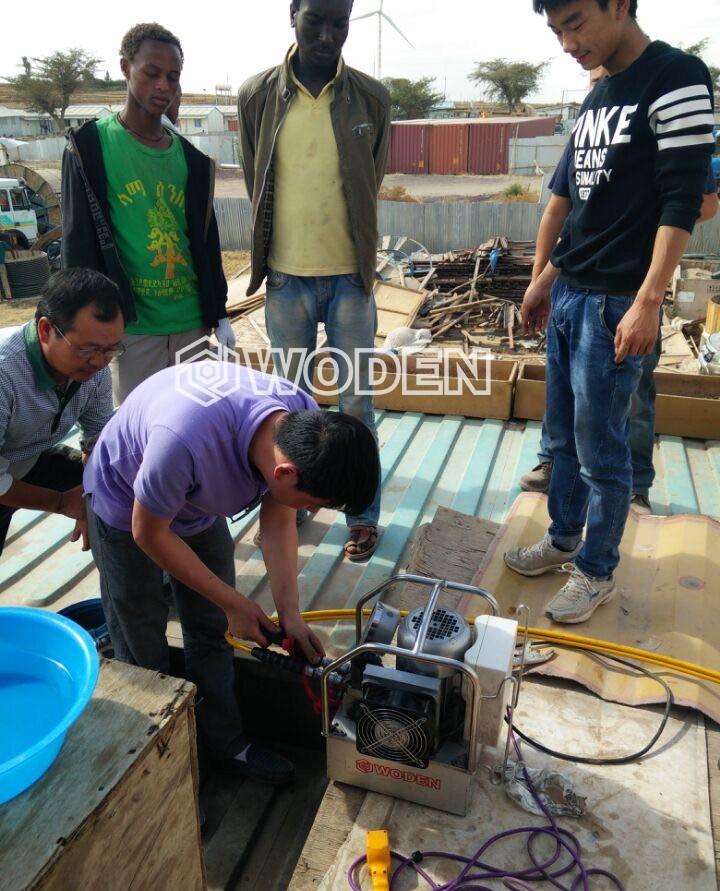 雷电竞网页风电吊装LOL雷电竞雷电竞备用网站泵应用于非洲某大型风力发电场